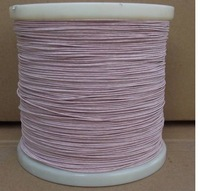 0.07x5 strands, 500m/pc Litz wire antenna multi strand polyester silk envelope wire enamelled copper wire woven wire
