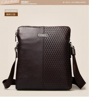 Brand genuine leather men bags cross body wholesale price