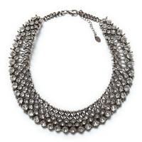 High Quality New Arrive Big Brand Fashion Necklaces & Pendants Crystal Choker Statement Necklace Vintage Necklace Women