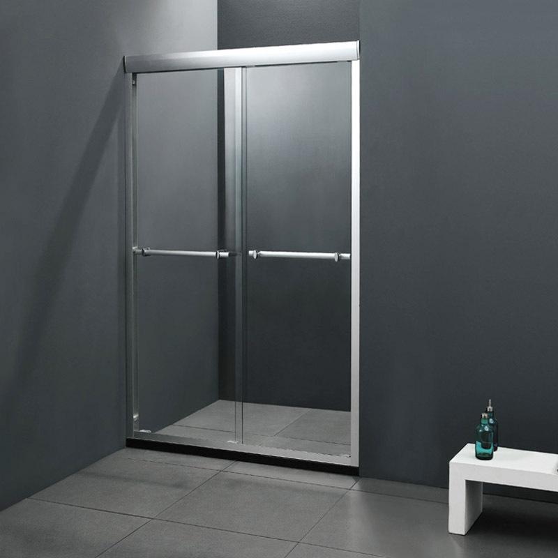 Dikte Afvoer Badkamer ~ cabine douche roestvrij stalen schuifdeur badkamer douche huis douche