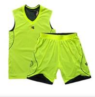 Reversible basketball clothes basketball jersey basketball set printing