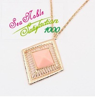 Vintage Style Wild Temperament Sweater Chain Gold Necklaces & Pendants Fashion Jewelry S222