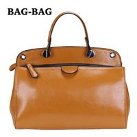 2014 NEW Women's GENUINE LEATHER Handbag Italian stylish ladies TOTES Crossbody bags Fashion bag for girl R119