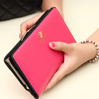 Women's wallet 2014 women's long design wallet female wallet change clip clutch women's wallet