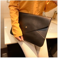 Big bags 2014 women's handbag envelope bag shoulder bag  for ipad   bag briefcase laptop bag