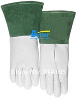 Leather Work Gloves Grain Leather Welding Gloves Grain Deerskin TIG Gloves