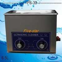 free shipping to Russian PS-30 AC110/220v Ultrasonic cleaner 6.5L 40KHZ for for electronic components ,Dentures