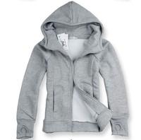S-XXXL SIZE SALE free shipping autumn and winter with a hood sweatshirt male slim plus size coat male plus velvet sweatshirt
