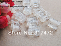 Free ship! 18*24mm Rectangle Glass Bubble for  DIY Ring Jewelry Pendants