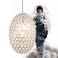 free shipping Brief modern crystal pendant lamp art pendant light lighting lamps frhc 02