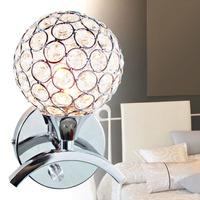 free shipping Brief fashion modern crystal wall lamp art lamp ofhead mirror frha b58
