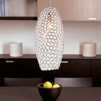free shipping Brief k9 modern crystal pendant lamp art pendant light lighting frhc 43