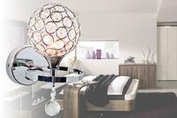 free shipping Modern brief k9 double slider crystal wall lamp art lamp bed-lighting mirror light wall frha b4