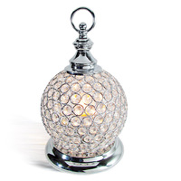 free shipping Modern brief dimming gold crystal decoration table lamp art lamp ofhead frtl t51