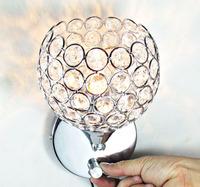 free shipping Brief k9 modern crystal wall lamp art lamp bed-lighting mirror light frha b43
