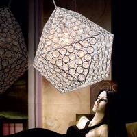 free shipping Brief k9 modern crystal pendant lamp art pendant light frhc 46b