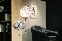free shipping Brief fashion k9 modern crystal wall lamp art lamp ofhead mirror stair wall a pair of