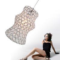 free shipping Brief modern led  living room lamps bedroom lamp dining room pendant light crystal lighting