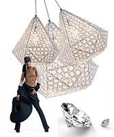 free shipping Modern living room lamp led crystal hall lamp bedroom lamps diamond single pendant light k9 crystal lamp