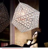 free shipping Crystal lamp vintage lighting lamps brief fashion living room crystal lamp crystal pendant light bedroom lamp