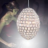 free shipping Modern brief led crystal lamp flower crystal pendant light lamps lighting k9 crystal lamp