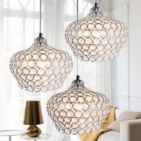 free shipping Modern  living room lights led crystal hall lamp bedroom lamps lighting single head