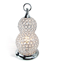 free shipping Modern brief k9 crystal table lamp ofhead living room lamp lamps dimming study lamp