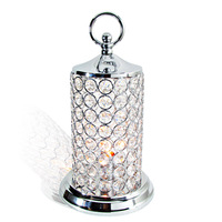 free shipping Brief fashion k9 modern crystal table lamp ofhead living room lamp lamps dimming