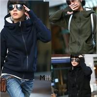 Artboor Sisters equipment 2014 New fashion spring women's long-sleeve hood sweatshirt slim cardigan top outerwear Free Shipping