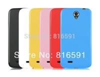 Free Shipping Lenovo A850 Case Silicone Case Lenovo A850 Jelly Case Soft Case Gift Screen Protector
