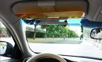 2 in 1 Car Anti-glare Anti dazzle Goggle Car Shield Flip Auto Sunglasses Sunshade Goggles Cover Sun Visor CLIP-ON day & night