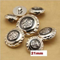 Min.order is $12(mix order buttons)21mm Fashion anchor pattern buttons,shank plastic button,scrapboking accessories(ss-2220)