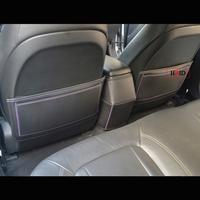 Skoda Fabia Octavia Superb Rapid MG3 MG5 MG6 Roewe 350 550 750 950 W5 car seat back Armrest box back pad mats Protector