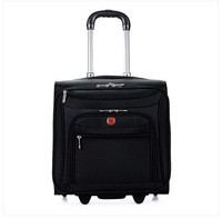 Swiss Army Knife luggage trolley business suitcase caster waterproof oxford custom 16-inch board chassis