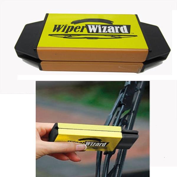 Car Van Wiper Wizard Windshield Wiper Blade Restorer Cleaner with 5 Wizard Wipes(China (Mainland))