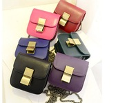 2014 spring and summer main hook clip chain models candy-colored small packet female bag wholesale