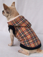 Dog Clothes New 2014 Pet Products fashion scottish plaid dogs clothing Grid Jackets HIGH GRADE Quality Four Color Free Shipping