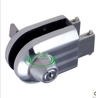 Free Shipping Glass Door Lock for single Glass Door with high quality