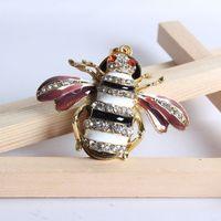 jewelry usb gadgets necklace 8gb 16gb 32gb Bee animal crystal usb flash drive flash usb drive pendrives usb memory gift