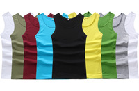 2014 New arrival high quality men's tank 100% Modal knitted under vest summer tank top large size M-6XL 8 colors