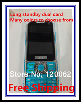 Hot Q1 dual card dual standby mobile phone keypad to unlock the phone long standby Russian (free shipping)