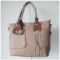 A104(gray) wholesale designer women's bag,hand bag,advanced PU,40x40cm,two different colors & two function,Free shipping