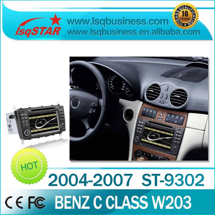 wholesale Original OSD Car gps radio for Mercedes benz W203 /CLK W209 with audio stereo bluetooth gps IPOD SWC free map(China (Mainland))