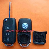 VW Touareg 3 button remote key blank