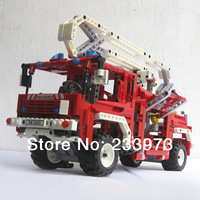Best sales! Decool firetrucks 3323 3323 computers, child initiation toy DIY puzzle toys for children, free shipping!