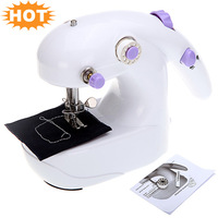 High Quality Mini Electric Sewing Machine Batteries Operated Desktop Handheld Home Sartorius