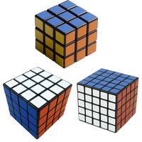 """Black Shenshou set of 3pcs Competitve Speed Spring Magic Puzzle Cube Game Intelligence Fancy Toy Gift 2.25"""""""