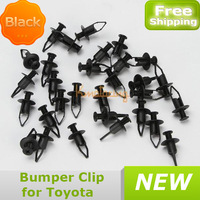 20x Bumper Clip suit for Toyota Push Rivet Retainer For Fastener Nylon Plastic Screw Fender free shipping wholesales