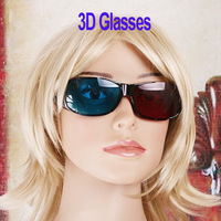 Red Cyan Blue Anaglyph 3D Vision Glasses for 3D Movie Game Video  5pcs/lot ,   dropshipping Wholesale