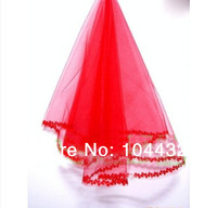 2014 New design Bridal veil Wedding dress accessories laciness veil 1.5m meters gauze